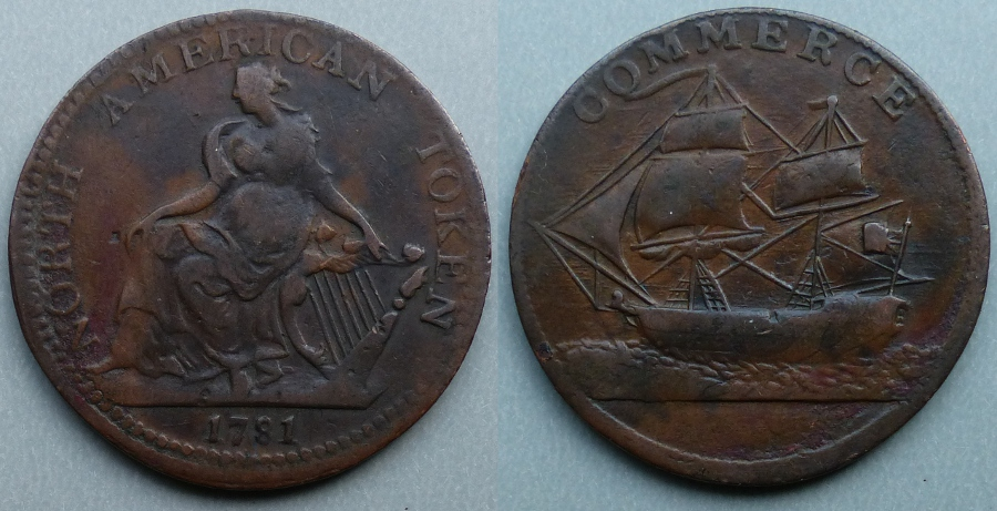 North American Token 1781