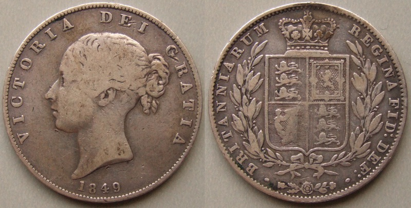 1849 Halfcrown