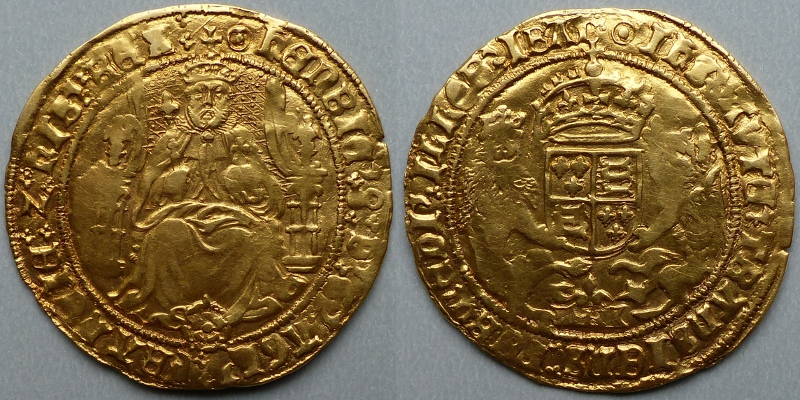 Henry VIII half sovereign